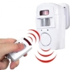 สัญญาณกันขโมยแบบ U1 Home Security Wireless Alarm System IR Motion Sensor Detector + 2 Remote Control