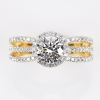 แหวนทอง ประดับเพชรแท้
