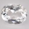 พลอยไวท์โทแพซ (White Topaz) พลอยธรรมชาติแท้ น้ำหนัก 4.85 หะรัต