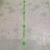 ม่านกันยุงแบบพิมพ์ลาย ไชส์ 100 สีเขียวอ่อน/ดอกลิลลี่
