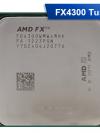 [AM3+] FX4300 Quad-Core 3.8 GHz, Turbo Speed: 4.0 TDP: 95W