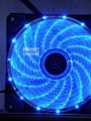 [Blue] Caser พัดลม PC 12CM ไฟสีน้ำเงิน