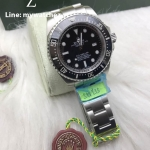 Rolex Deepsea Black Dial Ref#11660 Stainless 44MM - Swiss Grade