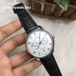 IWC Portugieser Automatic 7-day REF IW5007- White Dial