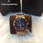 Michael Kors Bel Aire Rose-Gold Chronograph Ladies Watch MK5410