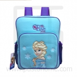 Preschool, Nursery school, Genuine Brand, Cartoon Backpack, lint, Elsa Blue