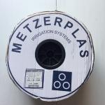 เทปน้ำหยด Metzerplas (อย่างดีของ อิสราเอลแท้) หนา 8 มิล ระยะห่าง 30 ซม. (1,000 เมตรเต็ม)