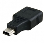 ตัวแปลง Mini USB เป็น USB ตัวเมีย (OTG)