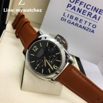 Luminor Panerai 241 Power Reserve - Brown Leather Strap