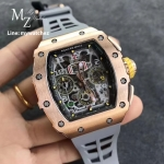 Richard Mille RM011-03 Chronograph Rose Gold - KV Factory