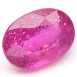 พลอยทับทิม (Ruby) พลอยธรรมชาติแท้ น้ำหนัก 1.15 กะรัต