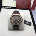 The Patek Philippe Aquanaut Travel Time Reference 5164R - Chocolate