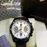 TAG HEUER Grand Carrera 17RS Caliper Chrono - White Dial and Black Case