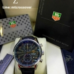 TAG HEUER Carrera Mikrograph 100 Chrono,- Black Dia and Goldl Stainless