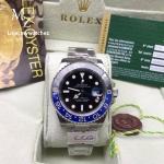 Rolex GMT-Master II, Black Dial, Blue & Black Ceramic Ref# 116710 BLNR - Batman