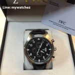 IWC Pilot's Watch Top Gun Quartz Chrono ฺBlack Ref#IW378901