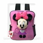 Preschool, Nursery school, Genuine Brand, Cartoon Backpack, lint, Minnie Pink