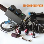 E-3 3-channel Wireless lens controller for DSLR with zoom,iris,focus controls for about 300 meter distance
