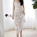 Seoul Secret Say's... Loevely Lacy Maxi Flora