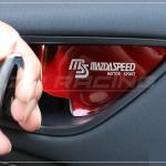 เบ้ารองมือเปิดด้านใน MAZDASPEED สีแดง CX-5
