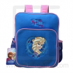 Preschool, Nursery school, Genuine Brand, Cartoon Backpack, lint, Elsa Deep Blue