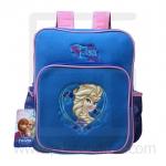 Preschool, Nursery school, Genuine Brand, Cartoon Backpack, lint, Elsa Deep Blue