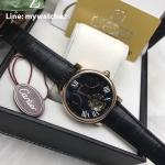 Cartier Rontonde Tourbillion Black Dial Rose Gold- 40MM