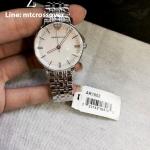 Armani AR1602 32mm Silver Steel Bracelet & Case Mineral Women's Watch