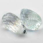 พลอยอะความาลีน (Aquamarine) พลอยธรรมชาติแท้ น้ำหนัก 4.05 กะรัต