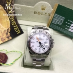 ROLEX Explorer II Superlative Ref.216570 - White Dial
