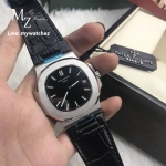 Patek Philippe 5711/1A-010 Stainless Leather Strap - Black Dial
