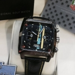 "TAG Monaco 24 Cal.36 Black(40.5 mm.)Black-PVD Concept""Race Cares Of The 24 Of Le Mans"