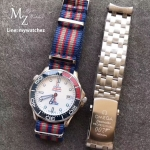 """Omega Seamaster Diver 300 M Commander Watch """"Limited Edition"""""""