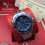 Omega Seamaster Diver 300 Co-Axial Chronograph 44MM - Blue Dial