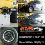 Nexen N7000 > 195/55/15 + Advanti MP661 > 15x7""