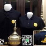 เสื้อโปโลดำ รุ่นขอน้อมส่งเสด็จสู่สวรรคาลัย ทรงสปอร์ต