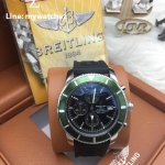 Breitling Superocean Héritage II Chronograph 44MM - Black Dial/Green Bezel