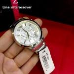 Emporio Armani Men's AR2458 Sportivo Analog Display Analog Quartz Silver Watch