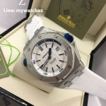 AP Royal Oak Offshore Diver 15710 ST - White Dial