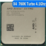 [FM2] X4 760K Quad Core 3.8 GHzTurbo Speed: 4.1 GHz AD760KWOA44HL