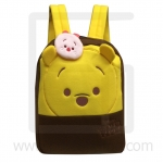 Preschool, Nursery school, Genuine Brand, Cartoon Backpack, lint, Pooh Tsum Tsum