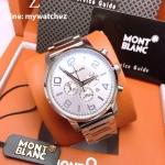 Montblanc Timwalker Chronograph 9669 - White Dial