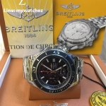 Breitling Superocean Chronograph II - Ceramic Bezel/Red Dial