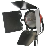 GD-800D Halogeen Redhead Spot Light with Dimmer Red+stand set (ไฟต่อเนื่อง800วัตต์+ขาตั้ง)