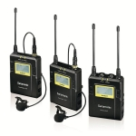 Saramonic UW MIC9 Set 2 Transmitter 96-Channel Digital UHF Wireless Lavalier Microphone System