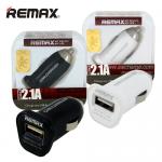 หัวชาร์จในรถยนต์ REMAX 2.1A