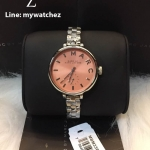 MARC BY MARC JACOBS Slim Baker Peach Dial Stainless MBM3365