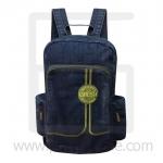 Jeans Denim Backpack, L color line, Vintage Style, High quality fabrics, Genuine Brand