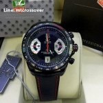 TAG HEUER Grand Carrera 17RS Caliper Chronograph Black Coat PVD