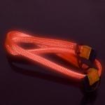 SATA Cable VIZO UV Red Reflective 90°-180°